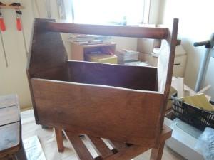 木工作品 マガジンラック