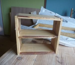 木工作品 棚
