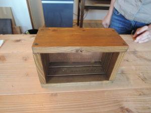 木工作品 箱