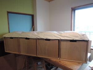 木工作品 ベンチ