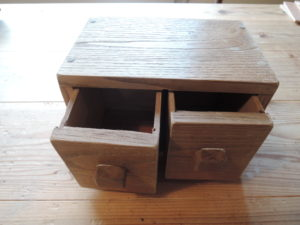 木工作品 引出し