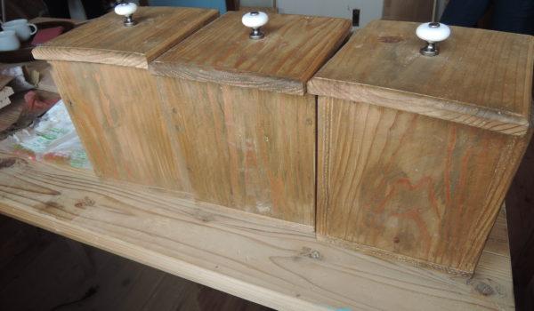 木工作品 木箱