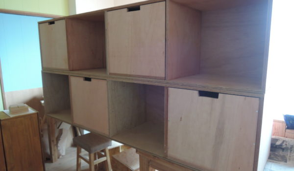 木工作品 大型の棚
