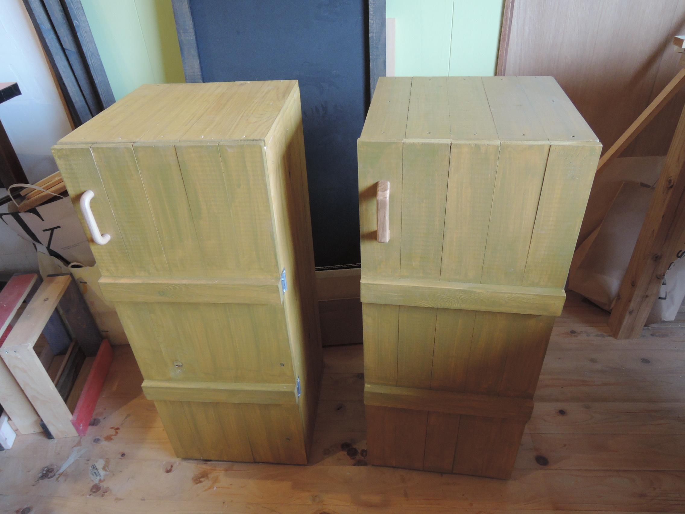 木工 靴箱