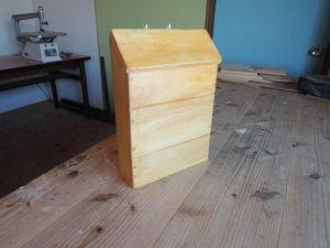 木工 手作り ポスト