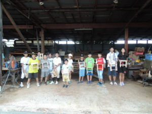 子ども木工教室