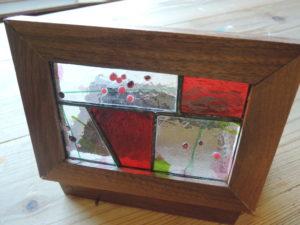 木工作品 宝石箱
