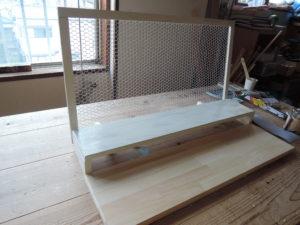 木工 手作り 展示台