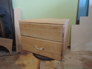 木工 小箱 ウォールナット
