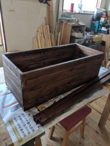 木工 植木 カバー